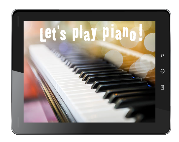 Let's play piano!